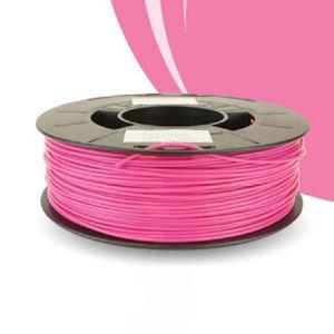3D printer PLA filament / 1,75 mm / pink / black