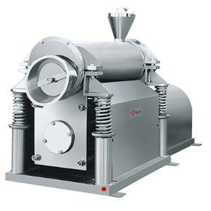 vibratory disc mill / horizontal / for powders / dry milling