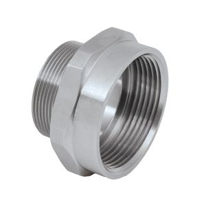 cable adapter / reducing / thread / nickel-plated brass