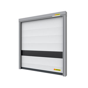 folding doors / steel / PVC / industrial