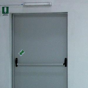 pedestrian doors / indoor / safety / with emergency exit function