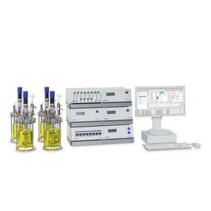parallel bioreactor / laboratory / process / benchtop