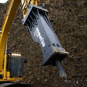 hydraulic breaker / for excavators / demolition / vertical