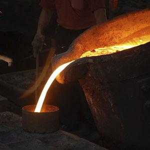 steel sand casting