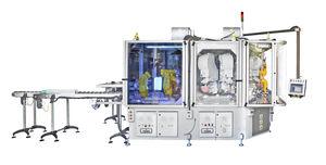 industrial pad printing machine / compact / modular