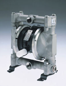 oil pump / pneumatic / submersible / double-diaphragm