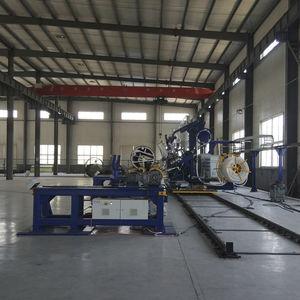 spiral pipe making machine