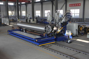 spiral tube extrusion line