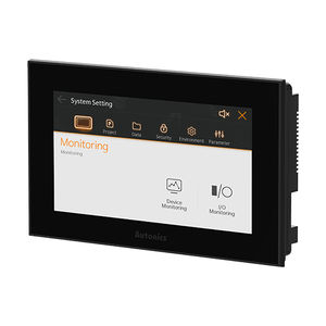 PLC with integrated HMI