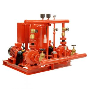firefighting pumping unit