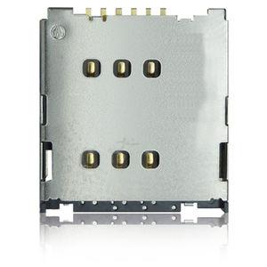 data connector / SIM card / square / low-profile