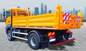 single-axle truck tipper