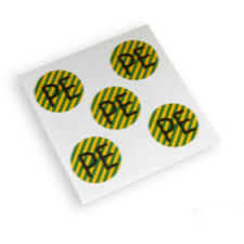 adhesive label / printed / vinyl / for electrical connectors