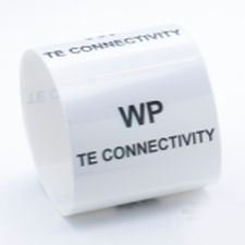 adhesive label / thermal transfer / printable / barcode