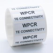 adhesive label / thermal transfer / identification / printable