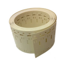 cable marking tag / printable / thermal transfer / in polyvinylidene fluoride