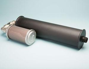 pneumatic motor silencer / tubular / standard