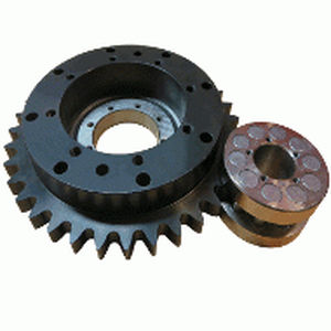 gear bearing / crossed roller / steel / with lubricant