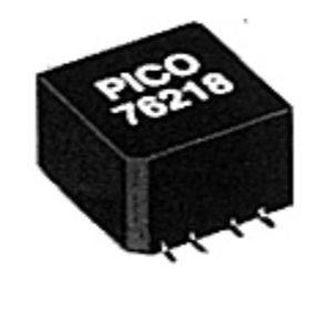 audio transformer / pulse / encapsulated / for electronics