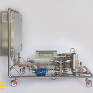 pasteurizer for the food industry