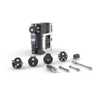 stepper motor-driven pump / syringe / industrial / compact