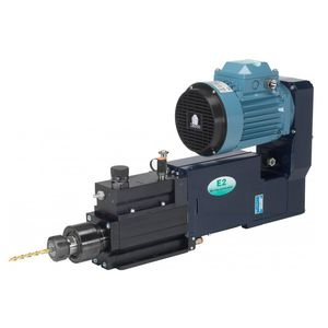 electro-pneumatic drilling unit / electric / hydraulic / single-spindle