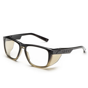 mechanical safety glasses / nylon / with side shields