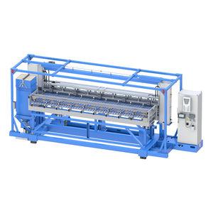 aluminum plate cleaning machine / brush / automatic / process