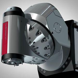 5-axis machining head