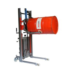 hydraulic tipping station