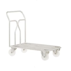handling trolley / stainless steel / for the food industry