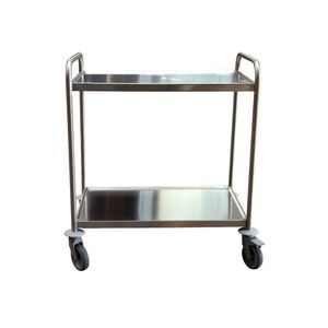 transport trolley / stainless steel / 2 levels / 3 levels
