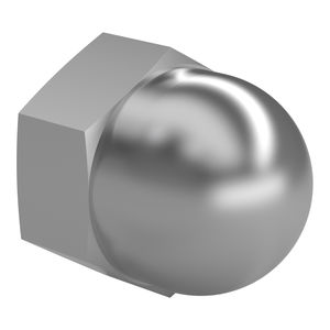 hexagonal nut / cap / steel