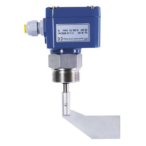 rotary paddle level switch / electromechanical / for bulk materials / compact