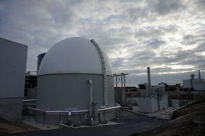 anaerobic biogas reactor / process / large