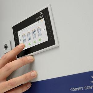 modular control for conveying