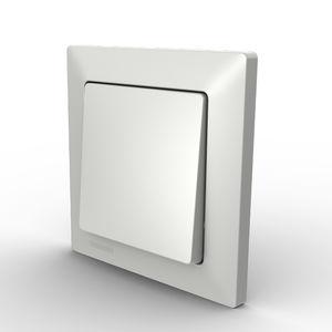 rocker switch / single-pole / flush-mounted / IP44