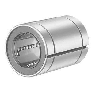 linear ball bearing / self-aligning / closed / stainless steel