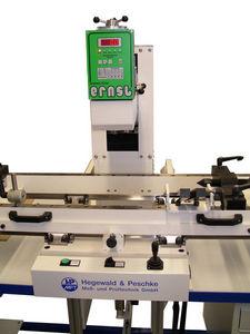 Rockwell hardness tester / floor-mounted / for crankshafts / motorized