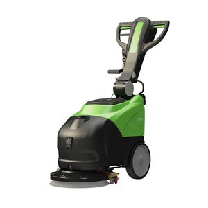 walk-behind scrubber-dryer / battery-powered / cable powered / for carpets