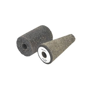conical abrasive roll