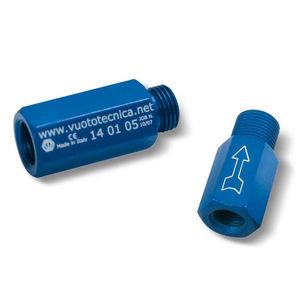 slide valve / shut-off / anodized aluminum / vacuum