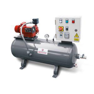 rotary-vane pump vacuum unit / industrial / automatic