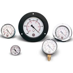 Bourdon tube vacuometer / dial