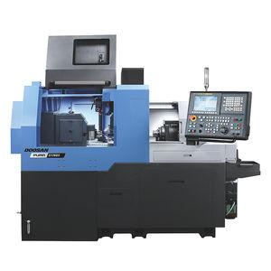 CNC Swiss lathe