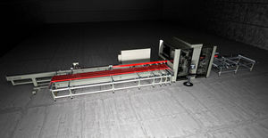 19-axis CNC machining center / vertical / for aluminum / milling