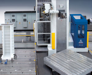 horizontal boring and milling center / for aerospace applications / high-performance / high-speed