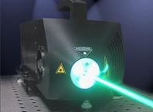 CW laser / solid-state / green / high-energy