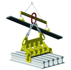 multi-rail lifting clamp / vertical / manual