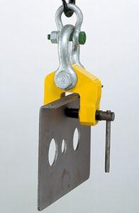 screw lifting clamp / for sheet metal / profile / sheet